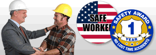 Safety stickers for hard hats