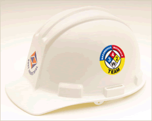 HazMat & Right-to-Know Hard Hat Stickers