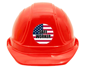 Safety Slogan Stickers Create Your Own Hard Hat Safety