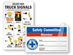 Safety Wallet Cards