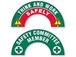 Crescent Companion Hard Hat Stickers