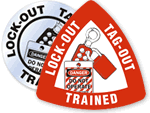 Lock-out Trained Stickers