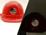 Reflective Safety Hard Hat Label