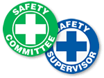 Safety Committee Stickers