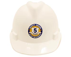 Safety Award Hard Hat Labels