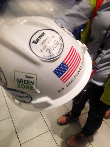 Hard Hat Stickers That Wrinkle