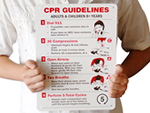 CPR Training Signs