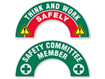 Crescent Companion Hard Hat Stickers
