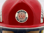 Fire Helmet Decals