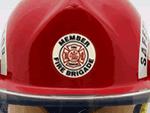 Fire Helmet Rescue Stickers