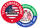 Safety Slogan Sticker
