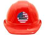 Safety Slogan Stickers - Hard Hat Safety Stickers