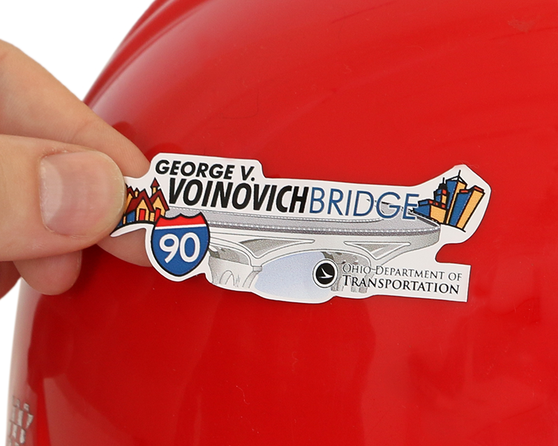 Custom Hard Hat Stickers - Customize Your Design At No Extra