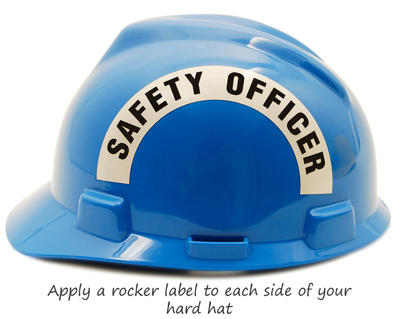 Safety Committee Hard Hat Stickers