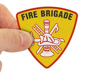 Fire brigade decal