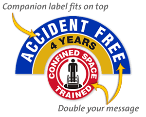 Companion Hard Hat Stickers