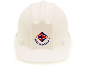 Custom Hard Hat Stickers