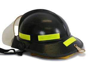 Reflective hard hat and helmet stickers