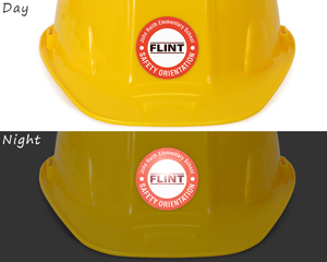 Custom Safety Orientation Sticker