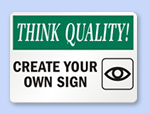 Free Sign – Print Yourself