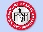 Custom Scaffold Stickers