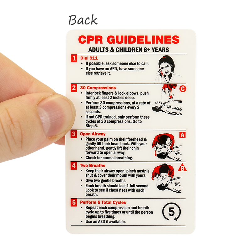 It's just a picture of Adorable First Aid Cards Printable