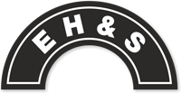 E H And S Hard Hat Decals