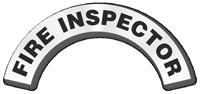 Fire Inspector Reflective Hard Hat Rocker