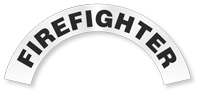 Firefighter Reflective Hard Hat Rocker
