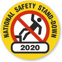 National Safety Choose Year Hard Hat Decals