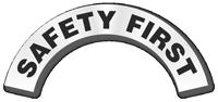 Safety First Reflective Hard Hat Rocker