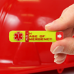Worker Emergency Hard Hat ID Standard