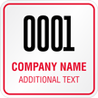 Add Company Name Custom Hard Hat Decal