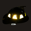 Reflective Helmet Tetrahedron Stickers onmouseover =