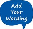 Add Your Wording Custom Hard Hat Decal
