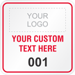 Custom Hard Hat Sticker