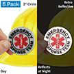 Emergency Response Team Hard Hat Label