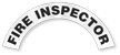 Fire Inspector Reflective Hard Hat Rocker