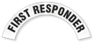 First Responder Reflective Hard Hat Rocker