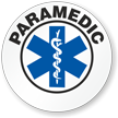 Paramedic Hard Hat Stickers