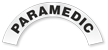 Paramedic Reflective Hard Hat Rocker