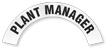 Plant Manager Reflective Hard Hat Rocker