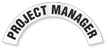 Project Manager Reflective Hard Hat Rocker
