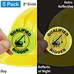 Certified Rigger Hard Hat Label