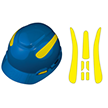 Viz-Kit™ 3M™ Brand Hard Hats Brand Kit