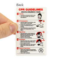 CPR & First Aid Wallet Card