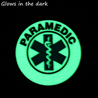 GlowSmart™ Photoluminescent Paramedic Hard Hat Labels