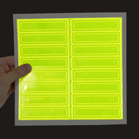 Sold in packs of 16 reflective and fluorescent stickers
