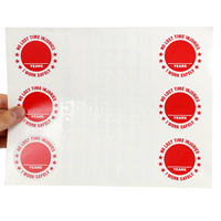 No Lost Time Injuries Hard Hat Stickers
