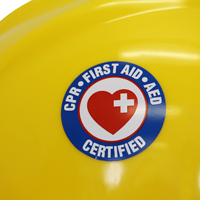 CPR First Aid Certified Decal